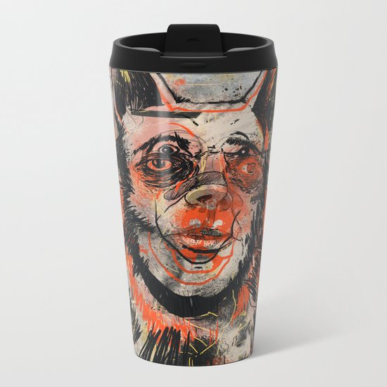 Waldick Dogman Metal Travel Mug