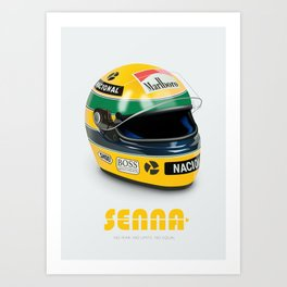 Senna - Alternative Movie Poster Art Print