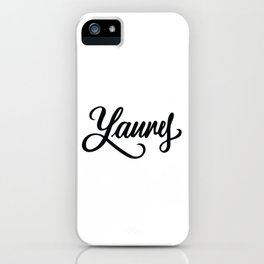 Laurel or Yanny? iPhone Case