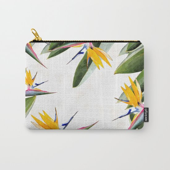 Bird of Paradise #society6 Carry-All Pouch