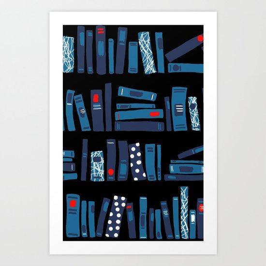 Keep Reading Art Print