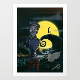 Client Commission Simpkins Son By Topher Adam Art Print