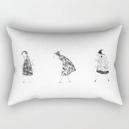 Señoras de Libreta / Ladys Rectangular Pillow