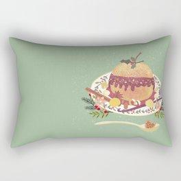 Baked Apple Rectangular Pillow