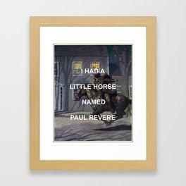 Paul Revere Framed Art Print