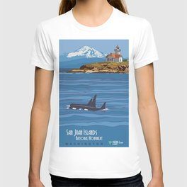 Vintage poster - San Juan Islands T-shirt