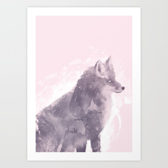 The Foxy Lady Art Print