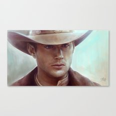 Dean Winchester from Supernatural Canvas Print