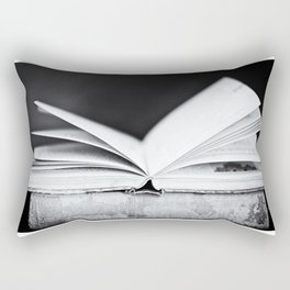 An Open Book Rectangular Pillow