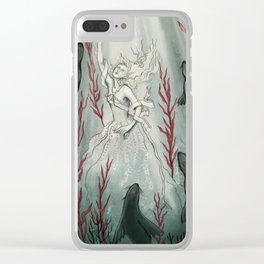Selkie Queen Clear iPhone Case