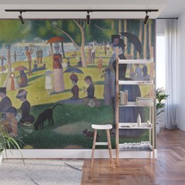 A Sunday on La Grande Jatte by Georges Seurat, 1884 Wall Mural
