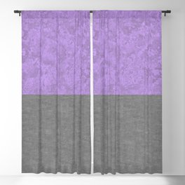 Lavender Concrete and Marble Stone Blackout Curtain