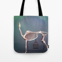 the flame and the grudge Tote Bag