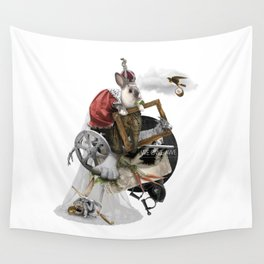 WE OWE AWE (Totem of the Rabbit) Wall Tapestry