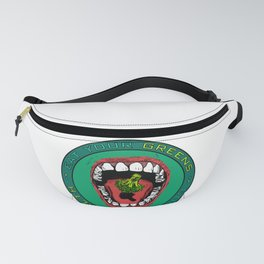 Eat Your Greens! Fanny Pack