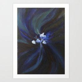 Palette Cleanse Art Print