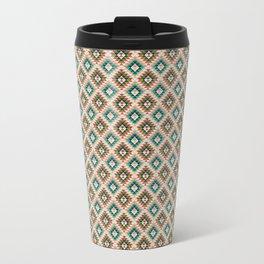 Triangles abstract Travel Mug