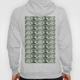 Uncut Sheet of Proposed African American Icon Harriet Tubman U.S. Mint 20 Dollar bills Hoody
