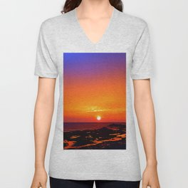 Unbelievable Sunrise Unisex V-Neck