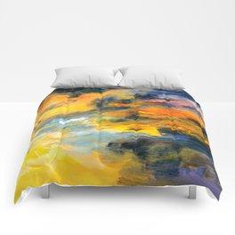 Sunset Detail Comforters