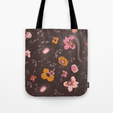 large flowers Tote Bag