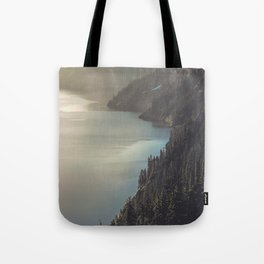 First Light at the Lake II Tote Bag