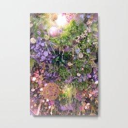 A Florist's Ceiling Garden Metal Print