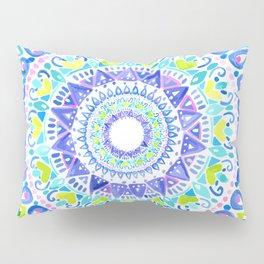 Summer Mandala Pillow Sham
