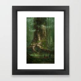 Secret of Mana Framed Art Print
