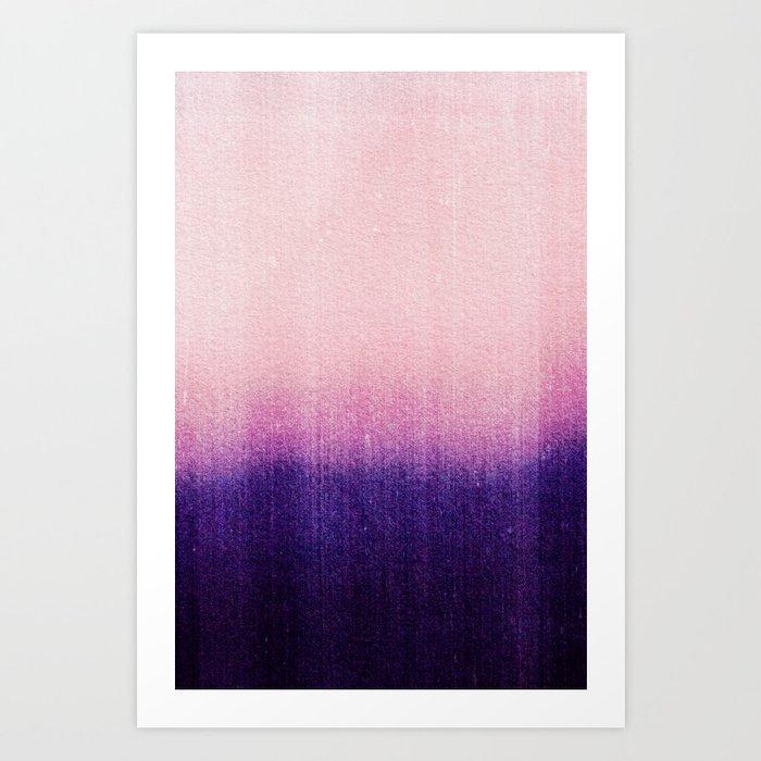 BLUR / abyss Art Print