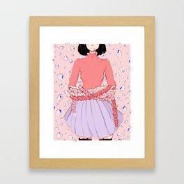 Kat's Kradle Framed Art Print