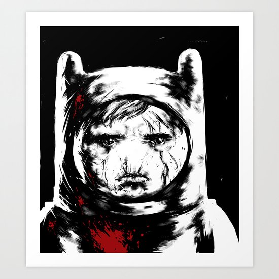 Adventure Time - Finn Art Print