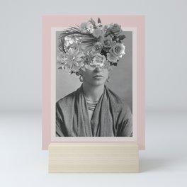 Magdalena y sus Flores Mini Art Print