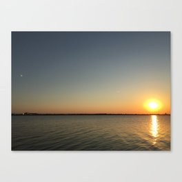 Mirror Effect Canvas Print