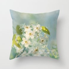 Spring's Magic Throw Pillow