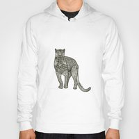 panther Hoodies featuring Panther by Janina Steger
