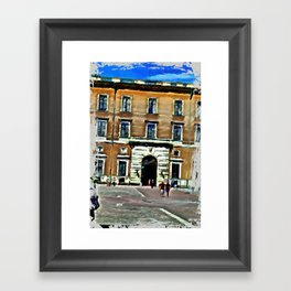 front Framed Art Print