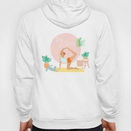 'Rise and Shine' Yoga Girl Power Hoody