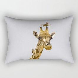 Perch of the Wild Rectangular Pillow
