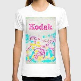 Psychedelic Kodak T-shirt