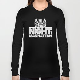 night in manhattan Long Sleeve T-shirt