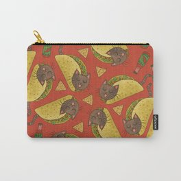 Taco Cats Carry-All Pouch
