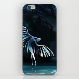 Swan princess iPhone Skin