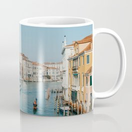 Gondola in the canals of Venice, Italy | Pastel colorful travel photography in Europe | Art Print Coffee Mug