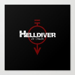 Helldiver of Lykos Canvas Print