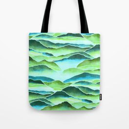 Rainforest Mountains  Tote Bag