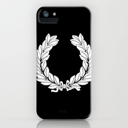 Laurel Half Tone iPhone Case