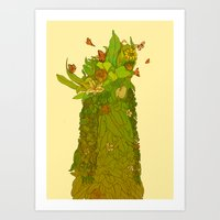 botanical Art Prints featuring Botanical by Carol Martins