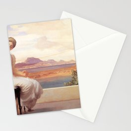 Winding the Skein - Frederic Leighton Stationery Cards