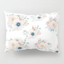 Dog Rose Pattern 2 Pillow Sham